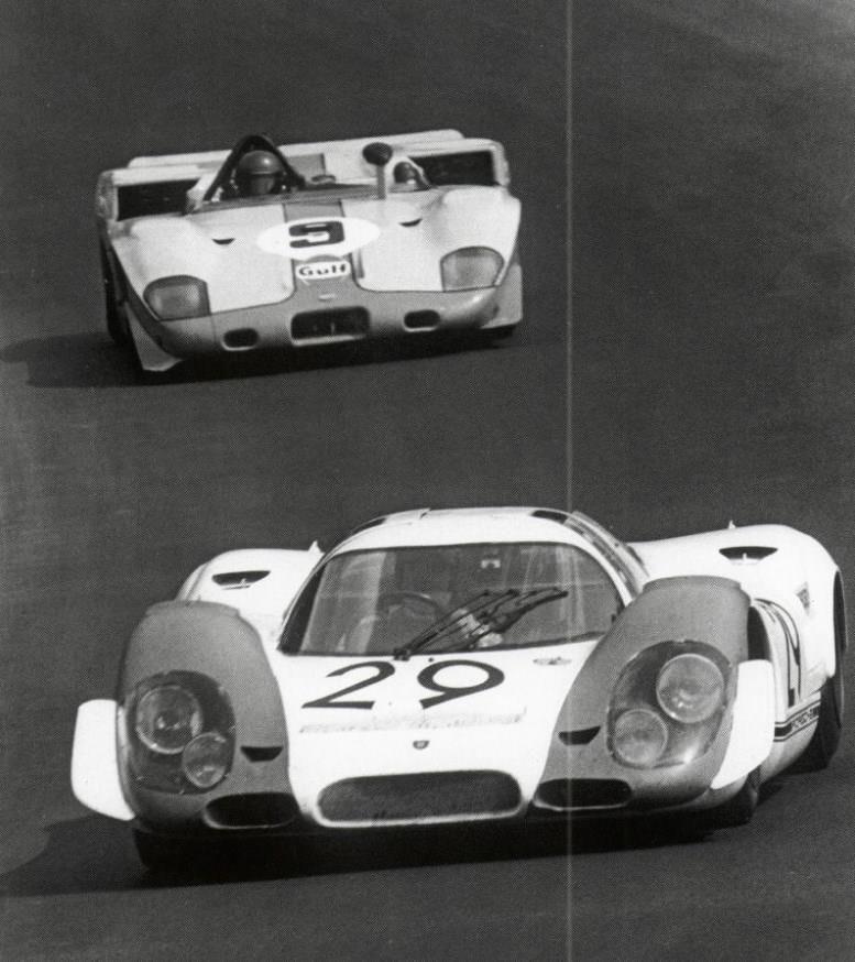 1000 km Zeltweg 1969  _________________________________  29º Karl Freiherr v. Wendt Winner...   Porsche 917  917 - 009  Jo Siffert - Kurt Ahrens, Jr   Test Day: Brian Redman - Richard Attwood  ________________________________  9º J. W. Automotive Ltd   Mirage M3   001 - 301   Jacky Ickx - Jackie Oliver