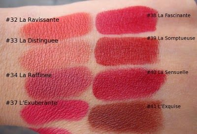 af185dfe50eb1e Rouge Deluxe: Chanel Rouge Allure Velvet Swatches | Lips | Chanel ...