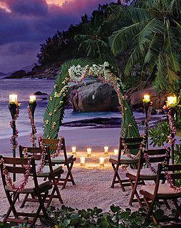 Seychelles Wedding Wedding Venues Beach Sunset Beach Weddings Beautiful Beach Wedding