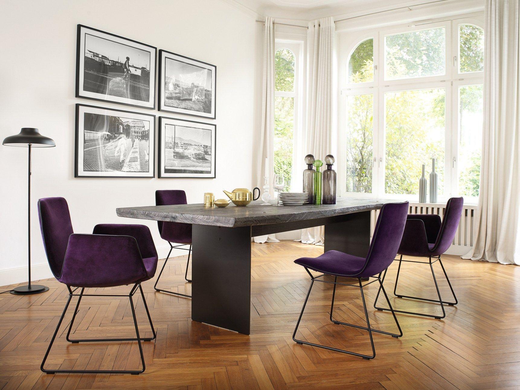 Tavolo da pranzo rettangolare in legno SK04 by Janua design Stefan ...