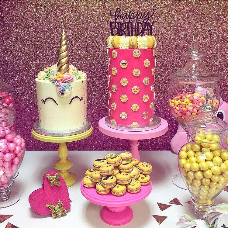9th Birthday Parties 11th Emoji Cakes Ideas