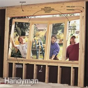 How to install a bow window bays bow windows and window for Bow window installation