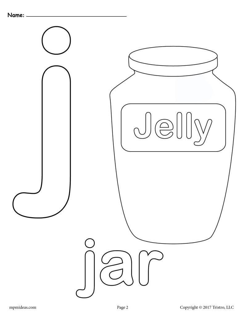 Letter J Alphabet Coloring Pages 3 Free Printable Versions Alphabet Coloring Pages Alphabet Coloring J Alphabet