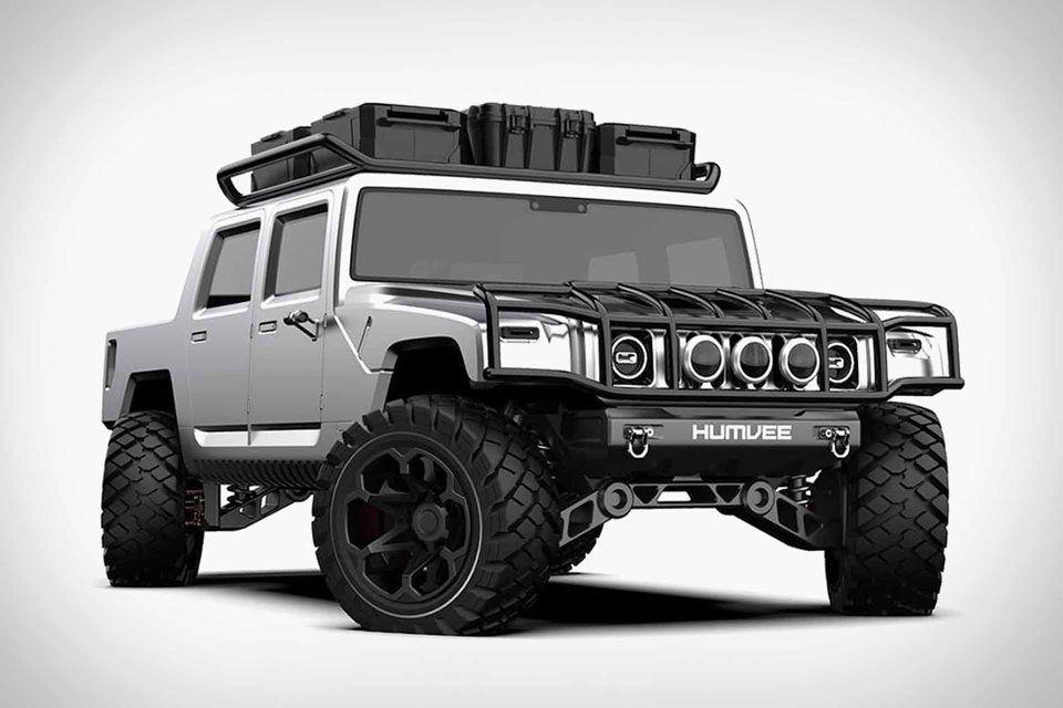 2021 Hummer H1 Concept Hummer Hummer H1 Ford Bronco