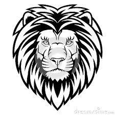 Résultat De Recherche D Images Pour Dessin Lion Noir Et