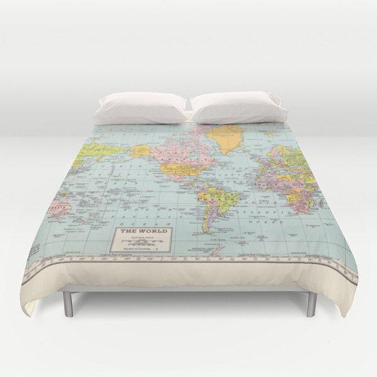 Map Comforter