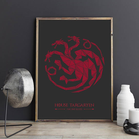 Film-fanartikel Game Of Thrones Qulilling Grußkarte House Lannister Aufsteller & Figuren
