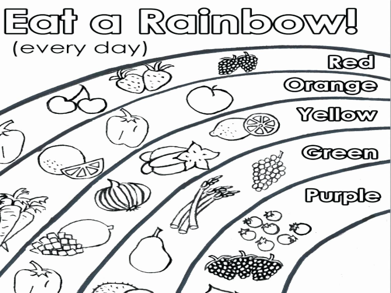 Vegetable Coloring Pages Preschool In With Images