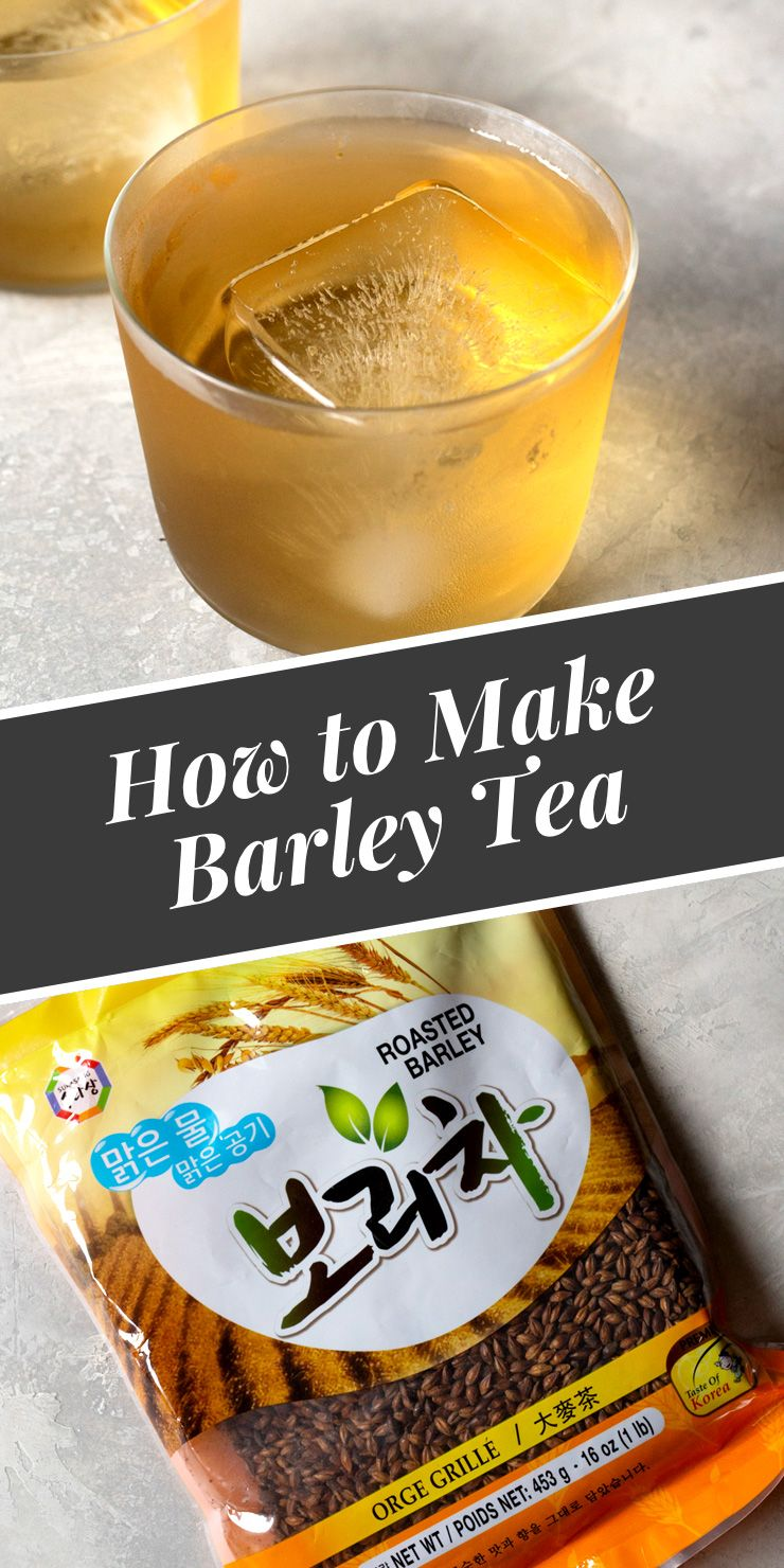 Find out here what makes barley tea a must try! Barley tea