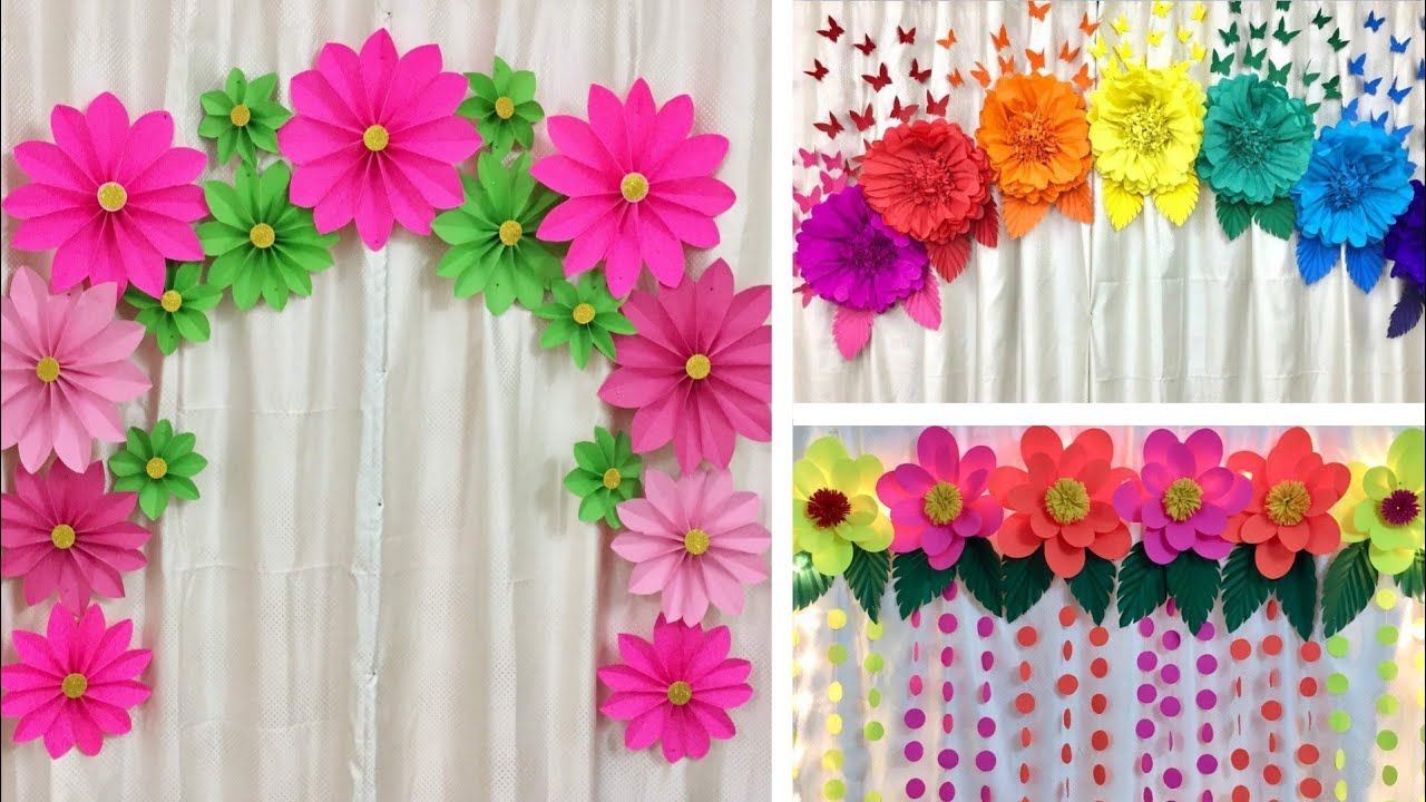 3 easy paper flowers decoration ideas for any occasion at