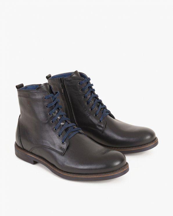 Trzewki Zimowe 015 066 Czarny Combat Boots Boots Dr Martens Boots