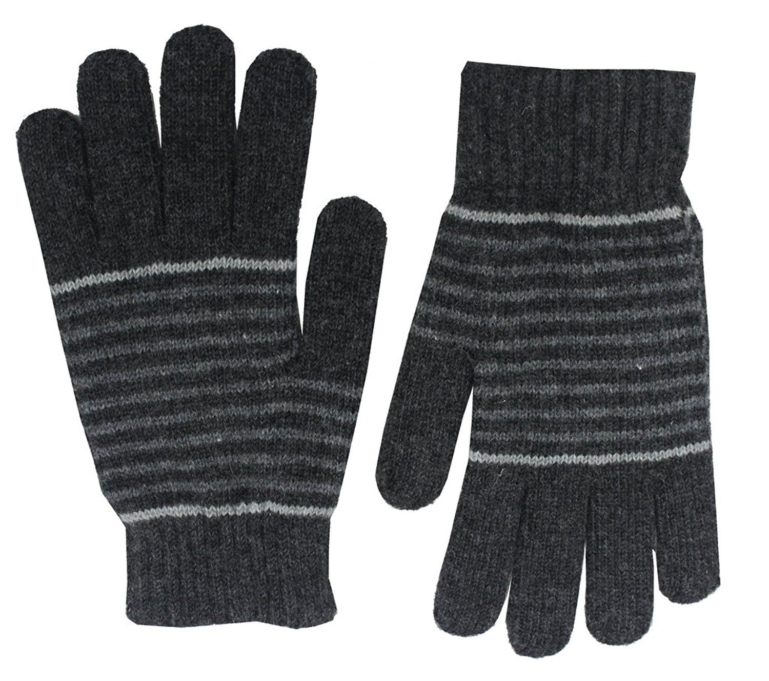 Romano Men S Premium Black Warm Winter 100 Wool Gloves Be Sure To Check Out This Awesome Product Wool Gloves Cold Weather Gloves Gloves