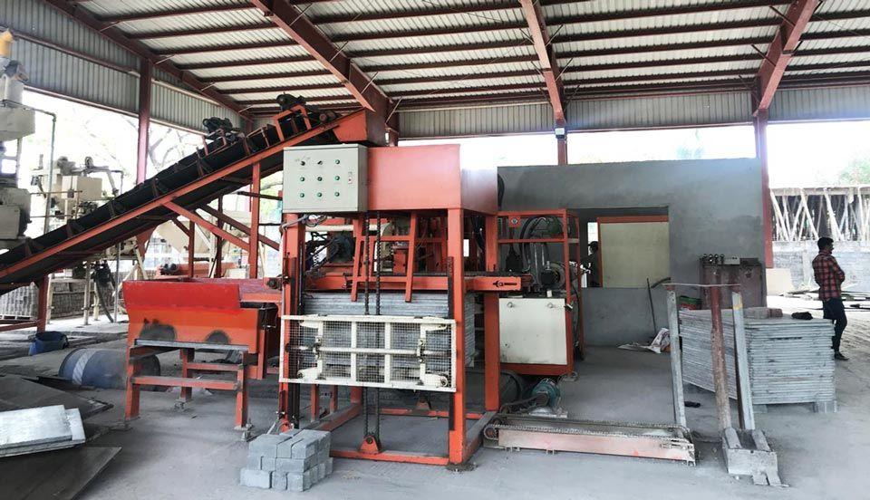 Concrete Block Making Machine Price In 2020 Fly Ash Bricks Concrete Blocks Making Machine