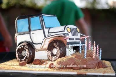 Coolest Jeep Birthday Cake Jeep cake 14th birthday and Birthday cakes