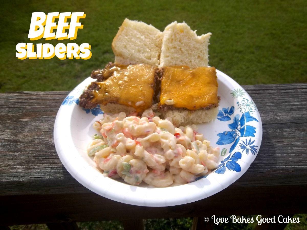 Love Bakes Good Cakes: Beef Sliders