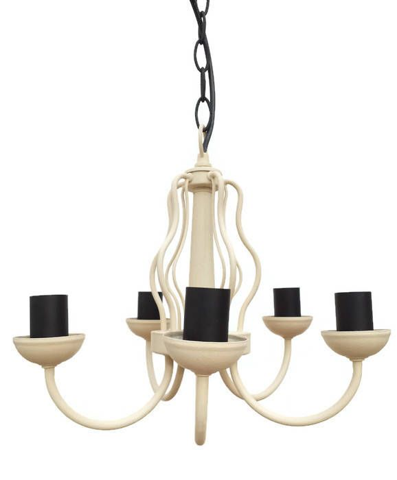 Cream Rustic Light Pendant Ceiling Lighting Farmhouse Light