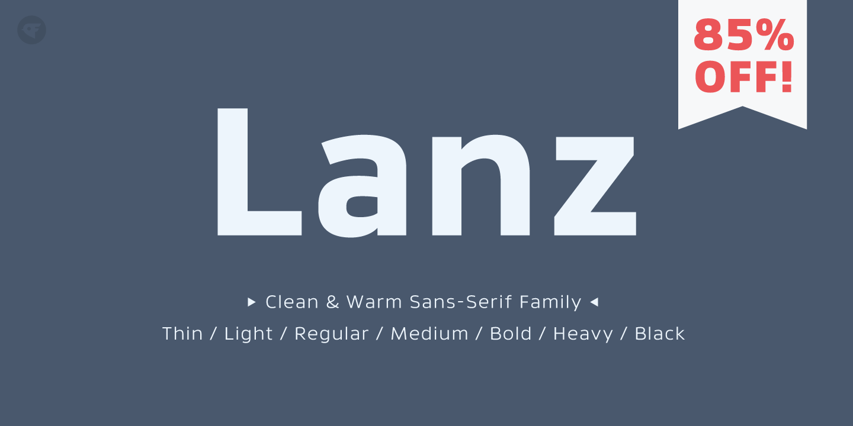 Download Lanz - Webfont & Desktop font « MyFonts | Download fonts ...