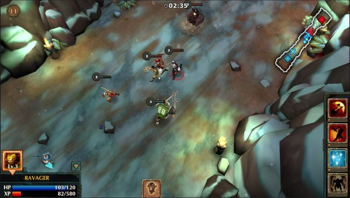 Legendary Heroes Moba Is A Free To Play Android Action Real Time