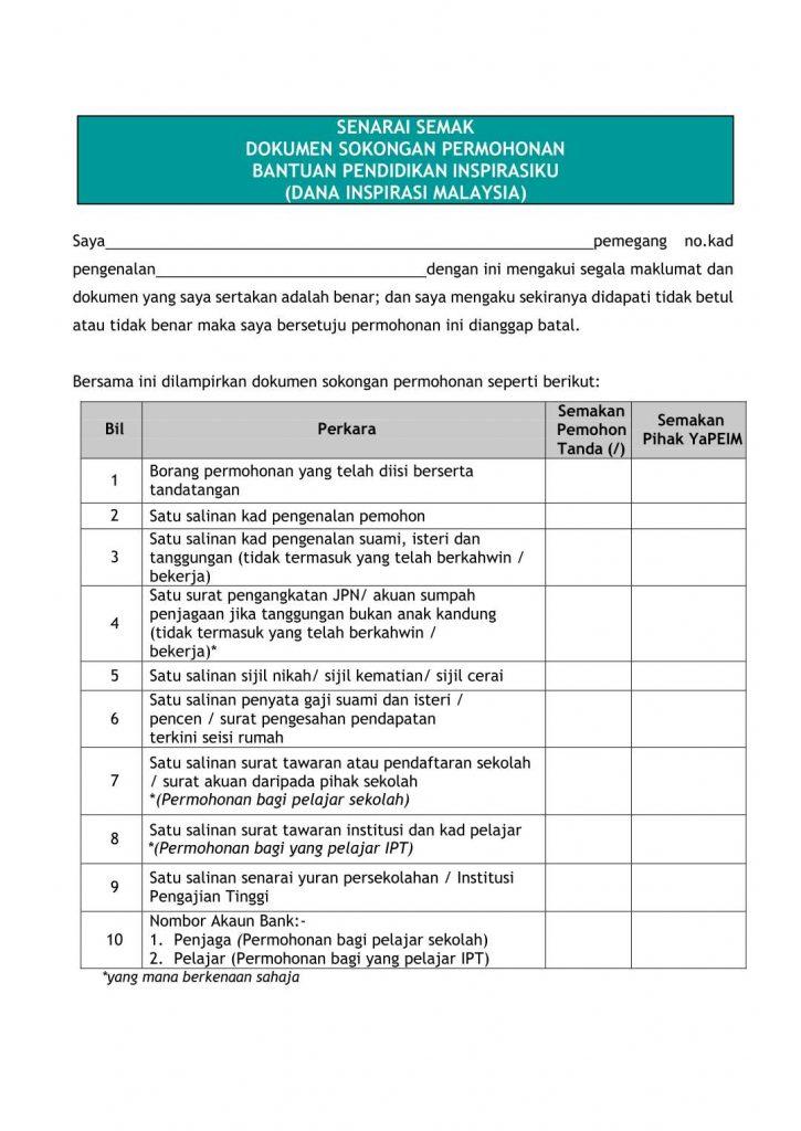 Permohonan Dana Inspirasi Malaysia Inspirasiku Yapeim 2020 In 2020 Visual Marketing Strategy Visual Marketing Malaysia