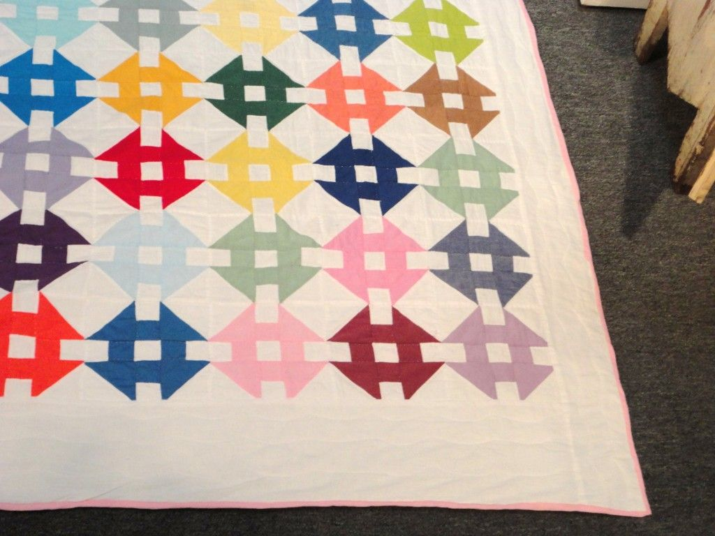 Pastel Amish Hole In The Barn Door Quilt From Ohio Barn Doors