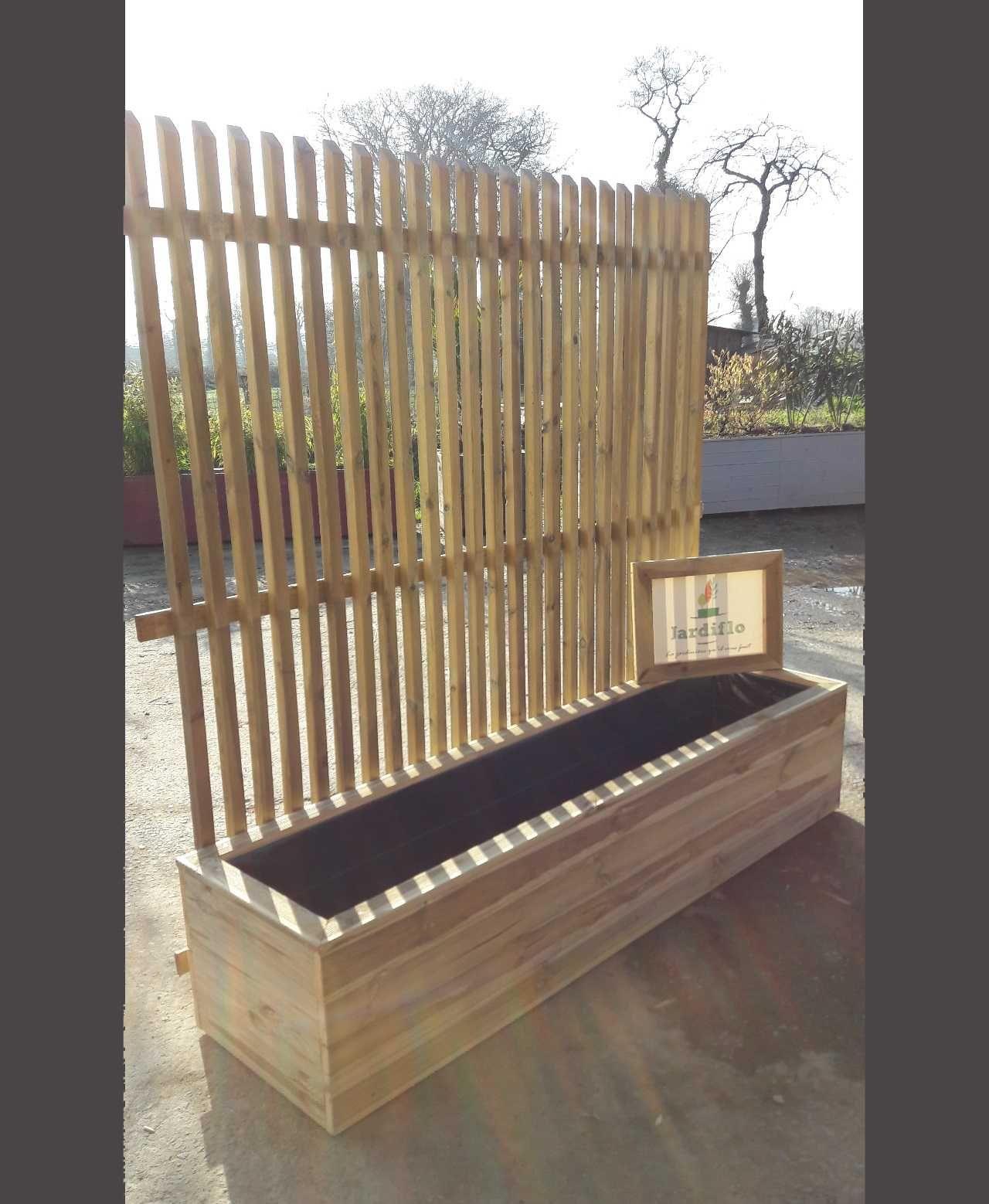 Fabriquer Terrasse En Bois Pas Cher image jardinière en bois de rigaud du tableau jardin en 2020