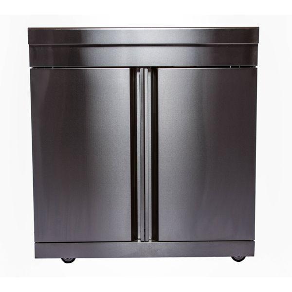 Swiss Grill 2 Door Cabinet Stainless Steel Modular Kitchen Set Ms Dd