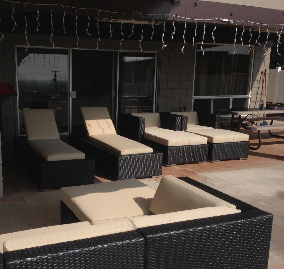 Ohana Wicker Furniture Outdoor Patio Furniture Deep