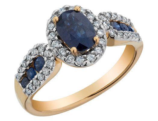 10k Gold Sapphire Rings Gold Sapphire Ring Sapphire Ring Jewels