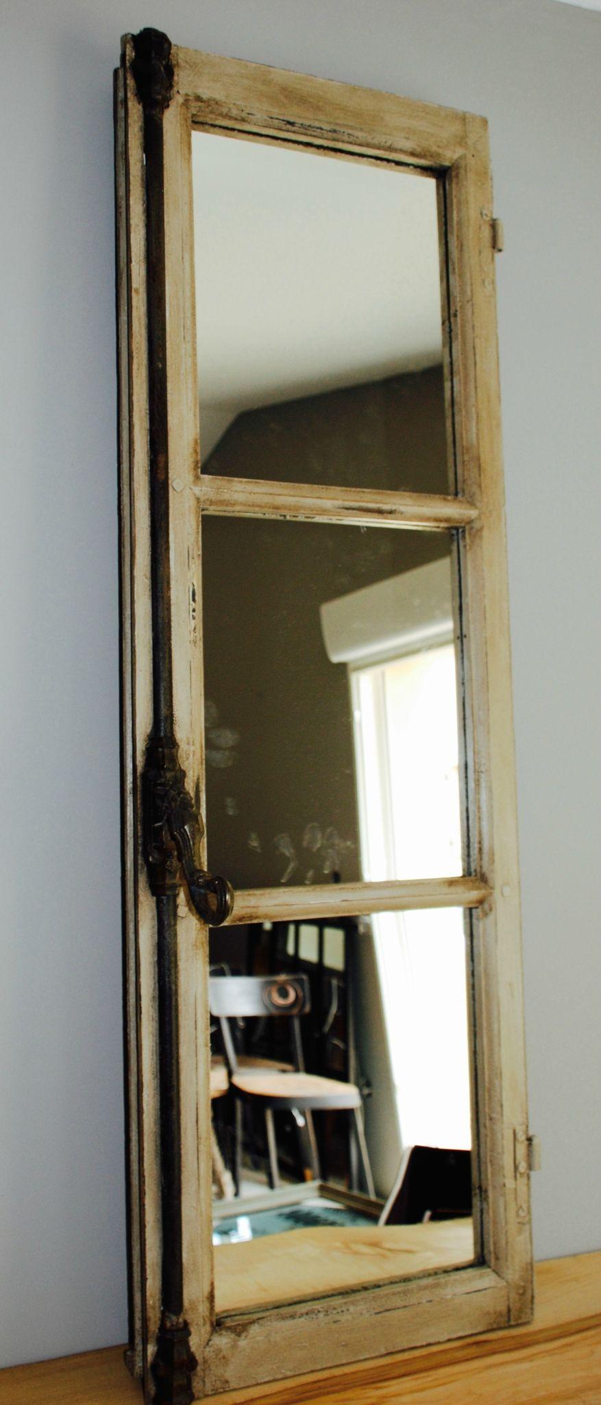 Miroir fen tre d co accrocher for Fenetre miroir decoration