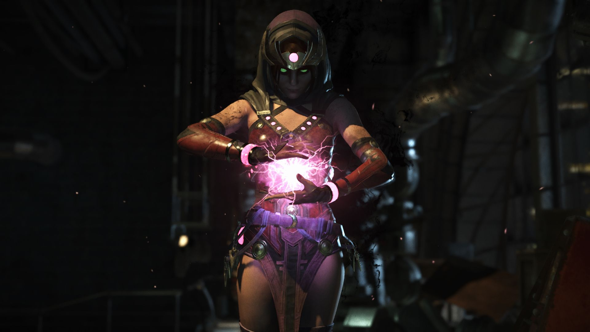 My Enchantress Injustice 2 I Absolutely Love Her Definitely One Of My Favorite Characters In The Game