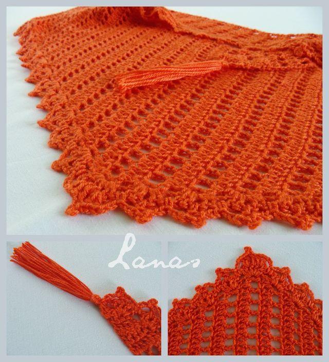 Crochet Baktus Lanas De Ana Triangle Shape And Crochet