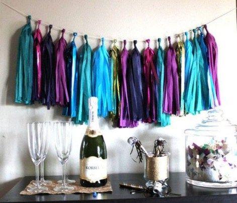 17 Easy DIY New Years Eve Party Decor Ideas   Diy your ...