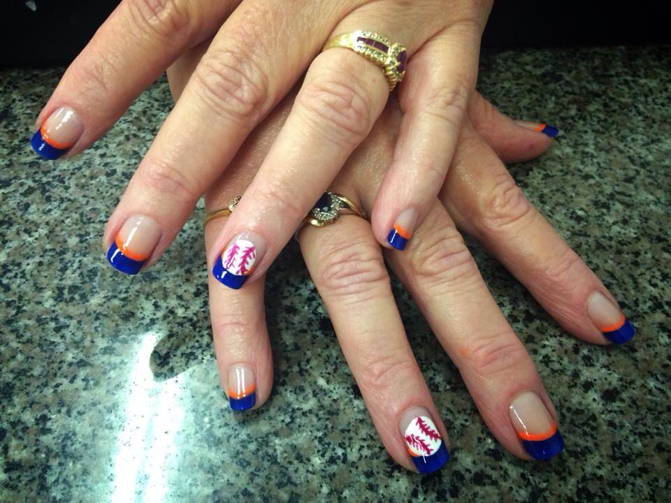 Houston Astro Nail Art | Nails | Pinterest | Square nails, Mani pedi ...