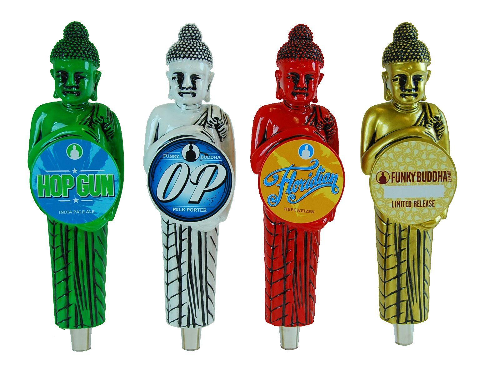 Funky Buddha custom tap handle group.   Beer Tap Handles   Pinterest ...