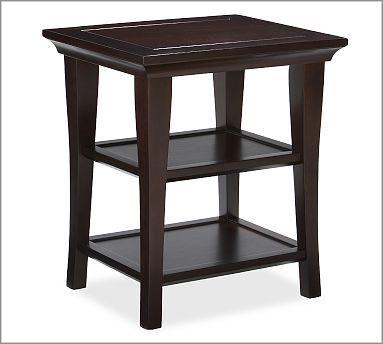 Metropolitan Rectangular End Table Small End Tables Rectangular Coffee Table Coffee Table Pottery Barn