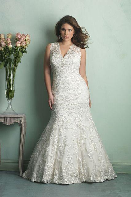 Curvy Brides - Plus Size Wedding Dresses | Hochzeit, Spitzenkleider ...
