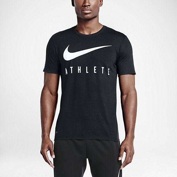 Nike Swoosh Athlete Men's T Shirt | Athlete, Mens tops, T shirt