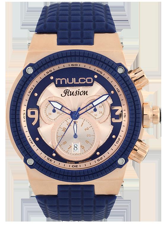 5e9dccbe8c29 Reloj  Mulco Colección Ilusion Cube Color Azul Rey MW3-12140-043 ...