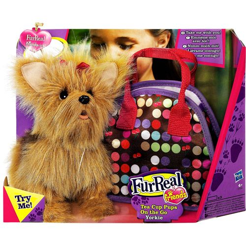 Furreal Friends Tea Cup Pups Yorkie Puppy Inara S Toto For Her Dorothy Basket This Samhain Vip Must Find In L Fur Real Friends Yorkie Girl Toys Age 5