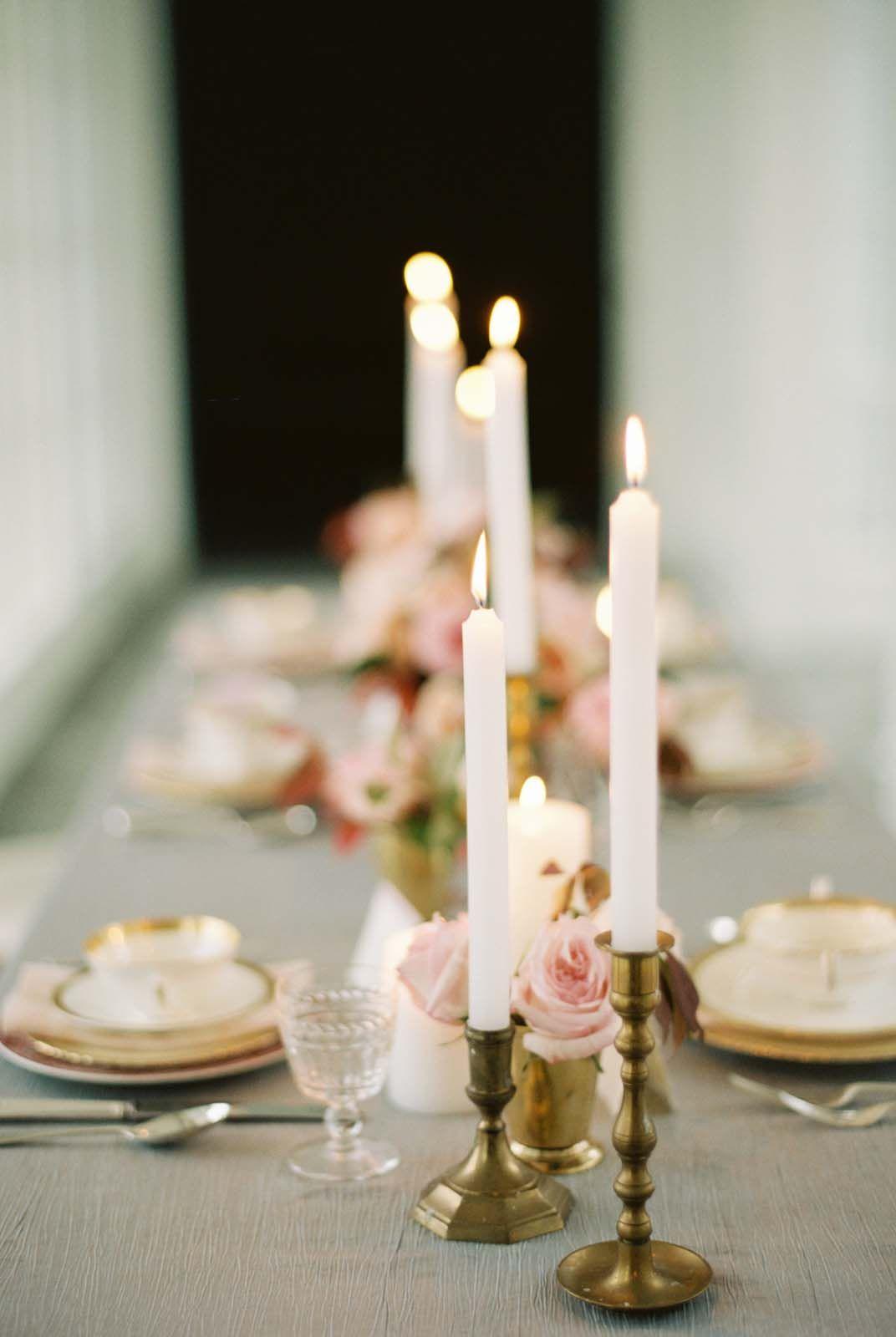 Styling and florals by Mallory Joyce, image by Elisa Bricker. #wedding www.weddingsunveiledmagazine.com