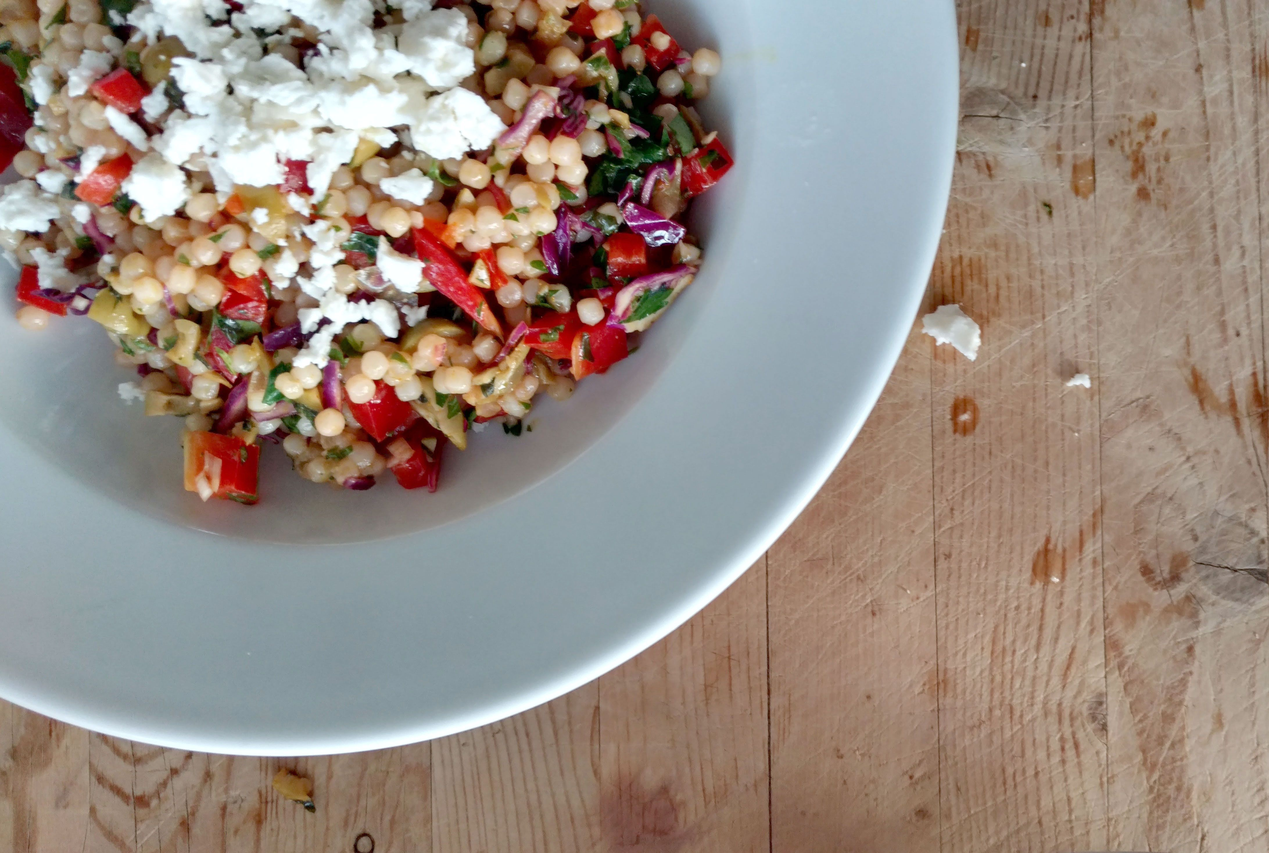 15-Minute Pearl Couscous Salad with Turmeric and Preserved Lemons ...