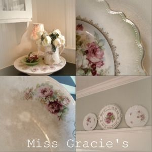 Love old Rose Plates