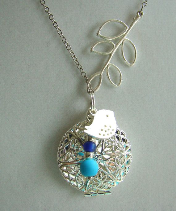 Bird And Branch Lariat Silver Essential Oil Diffuser