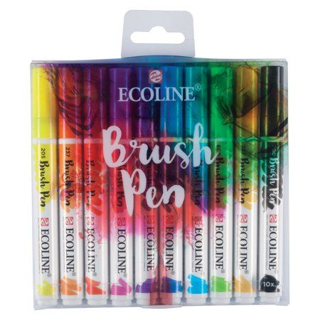 Arts Crafts Sewing Japanese Pen Brush Markers Pen Sets