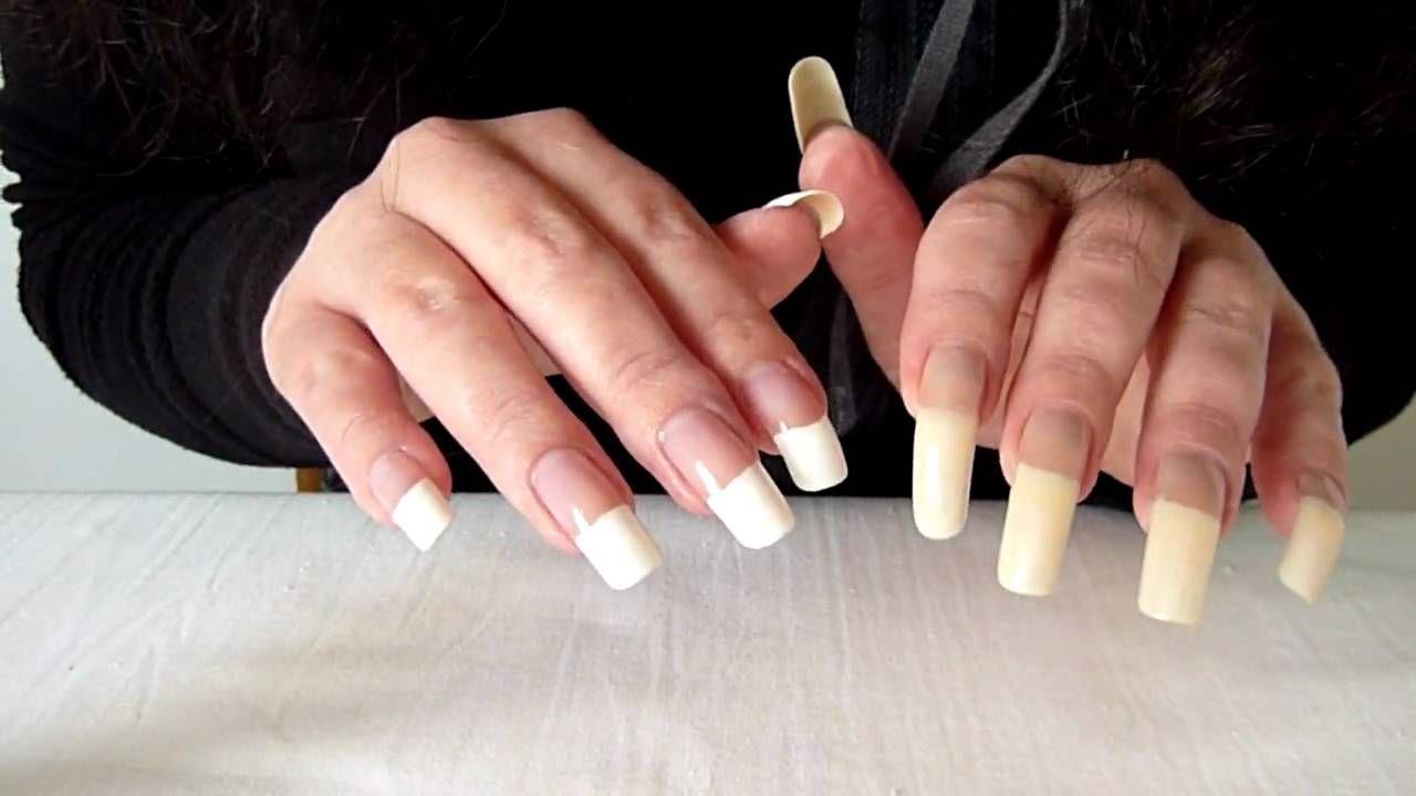 French Manicure Long Nails Cool Nail Design Ideas Beautiful Long