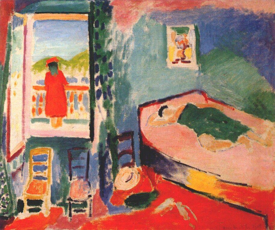 Henri Matisse - Interior at Collioure (The Siesta). 1905 | HENRI ...