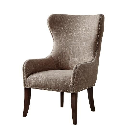 Madison Park Irvine Button Tufted Back Accent Chair