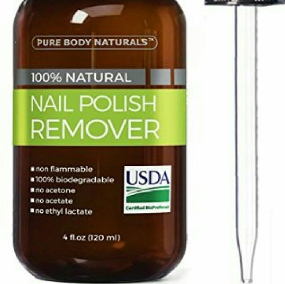 Brand new sealed Organic nail polish remover pure body naturals ...