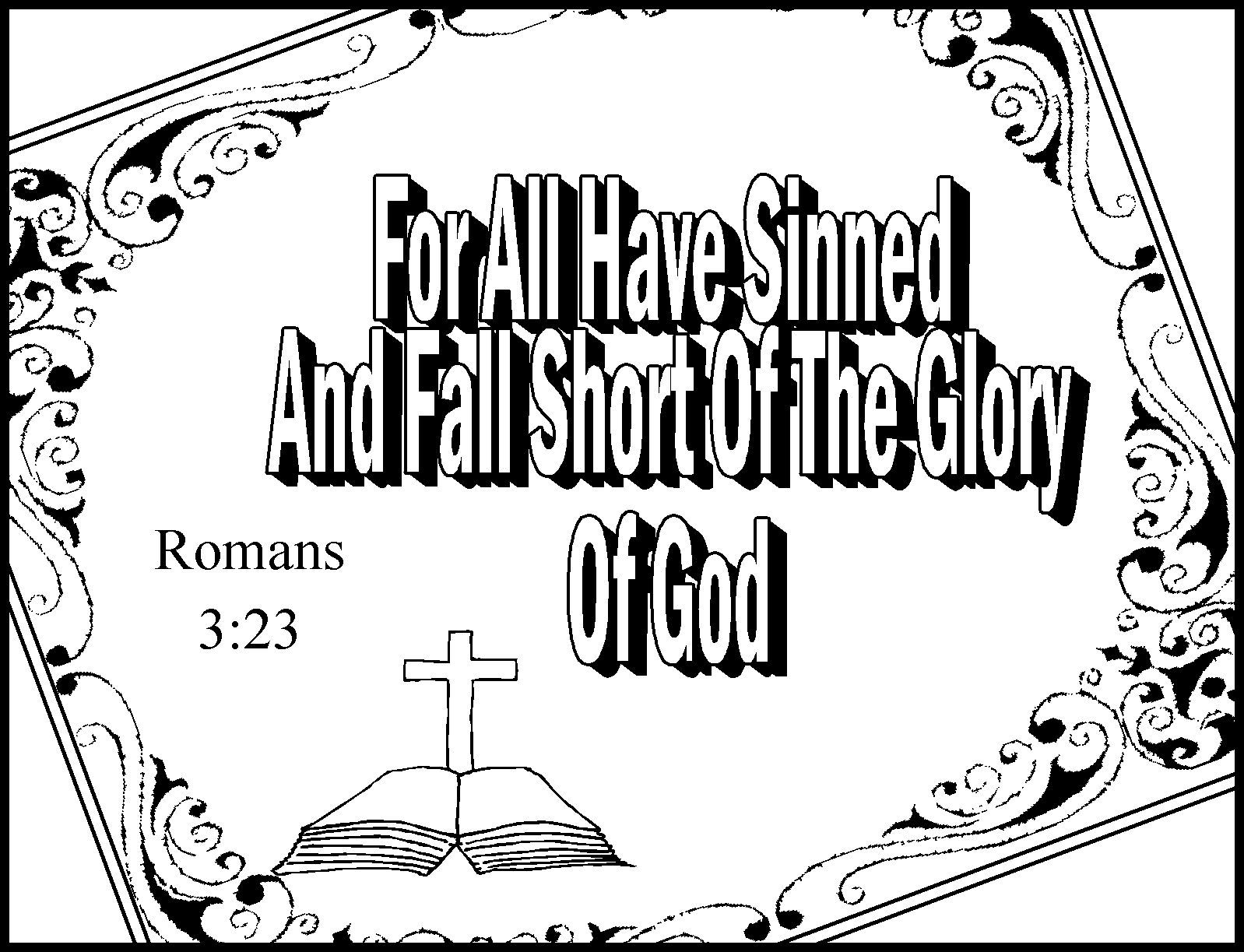 Childrens Gems In My Treasure Box: Romans Road Coloring Sheets ...