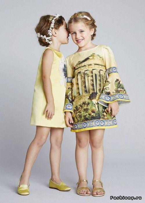 Dolce   Gabbana Bambino Весна-Лето 2014   дольче габбана детская коллекция f8c2641dc7b